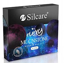 Духи, Парфюмерия, косметика Набор - Silcare Flexy Moonstone Hybrid Gel Set (nail/polish/4x4.5g)