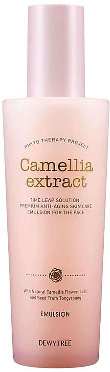 Питательная и увлажняющая эмульсия против морщин - Dewytree Phyto Therapy Camellia Emulsion — фото N1