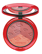 Духи, Парфюмерия, косметика Румяна компактные - Artdeco Blush Couture Iconic Red