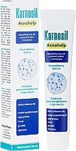 Духи, Парфюмерия, косметика Специализированный гель с ионами серебра и карнозином для проблем с кожей - Deep Pharma Karnosil Acnohelp