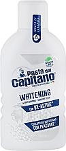 Духи, Парфюмерия, косметика Ополаскиватель для полости рта для отбеливания зубов - Pasta Del Capitano Whitening Mouthwash