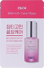 Духи, Парфюмерия, косметика Увлажняющая и осветляющая маска для лица - Isoi Bulgarian Rose Blemish Care Mask