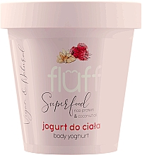 "Духи, Парфюмерия, косметика Йогурт для тела ""Малина и миндаль"" - Fluff Body Yogurt Raspberries and Almonds"
