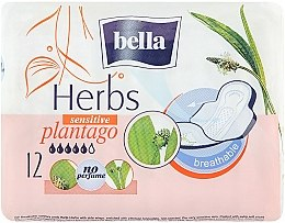 Духи, Парфюмерия, косметика Прокладки Panty Herbs Plantago, 12шт - Bella