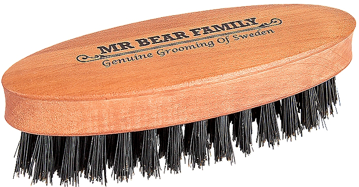 Щетка для бороды - Mr. Bear Family Beard Brush Travel Size — фото N1