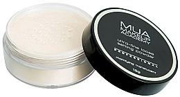 Духи, Парфюмерия, косметика Матирующая полупрозрачная пудра - MUA Makeup Academy Professional Loose Setting Powder