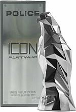 Духи, Парфюмерия, косметика Police Icon Platinum - Парфюмированная вода