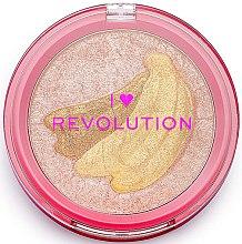 Духи, Парфюмерия, косметика Хайлайтер - I Heart Revolution Fruity Highlighter Banana