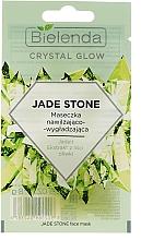 Духи, Парфюмерия, косметика Увлажняющая и разглаживающая маска для лица - Bielenda Crystal Glow Jade Stone Face Mask