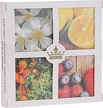 Духи, Парфюмерия, косметика Набор - Essencias De Portugal Senses Collection Set#4 (soap/4x50g)