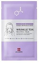 Духи, Парфюмерия, косметика Укрепляющая маска - Leaders Wrinkle Tox Skin Clinic Mask