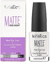 Духи, Парфюмерия, косметика Верхнее покрытие матовое - Kinetics Matte One Night Top Coat