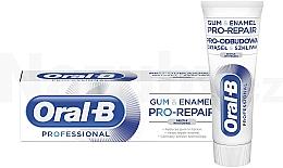 Духи, Парфюмерия, косметика Зубная паста - Oral-B Professional Gum & Enamel Pro-Repair Gentle Whitening