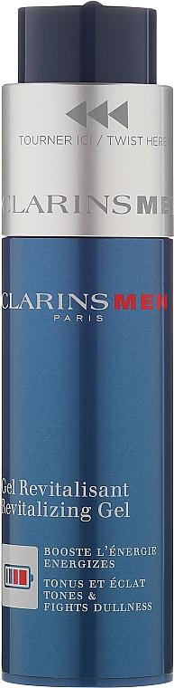 Восстанавливающий и питающий гель для лица - Clarins Men Revitalizing Gel — фото N2
