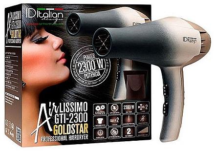 Фен для волос - Iditalian Airlissimo GTI 2300 Gold Star — фото N1