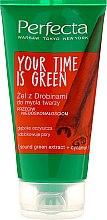 Духи, Парфюмерия, косметика Гель для умывания - Perfecta Your Time is Green