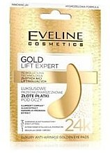 Патчи под глаза - Eveline Cosmetics Gold Lift Expert Luxury Antiwrinkle Golden Eye Pads — фото N1