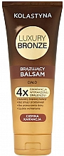 Духи, Парфюмерия, косметика Бальзам-автозагар для темной кожи - Kolastyna Luxury Bronze Tanning Balm