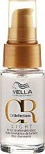 Духи, Парфюмерия, косметика Легкое масло для сияющего блеска волос - Wella Professionals Oil Reflection Light