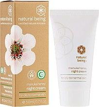 Духи, Парфюмерия, косметика Крем для лица, для нормальной и жирной кожи - Natural Being Manuka Honey Night Cream