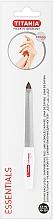 Духи, Парфюмерия, косметика Пилочка для ногтей изогнутая с микросапфировым покрытием размер 5 - Titania Essentials Soligen Saphire Nail File
