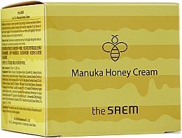 Крем для лица с экстрактом меда - The Saem Care Plus Manuka Honey Cream — фото N1