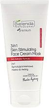 Духи, Парфюмерия, косметика Стимулирующая кремовая маска для лица - Bielenda Professional Individual Beauty Therapy 3in1 Skin Stimulating Face Cream Mask
