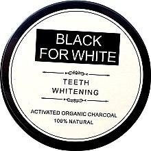 Духи, Парфюмерия, косметика Отбеливающий зубной порошок c активированным углем - Biomika Black For White Teeth Whitening