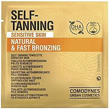 Духи, Парфюмерия, косметика Салфетка-автозагар для чувствительной кожи - Comodynes Self-Tanning Sensitive Skin