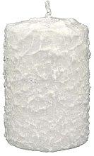 Духи, Парфюмерия, косметика Декоративная свеча белая, 7,5x10 см - Artman Christmas Candle White