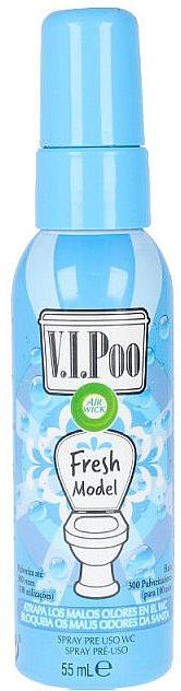 Спрей-освежитель для воздуха - Air Wick V.I.Poo WC Fresh Model Spray — фото N1