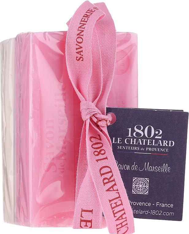 Набор - Le Chatelard 1802 Rose & Jasmine (soap/100g + soap/100g) — фото N1