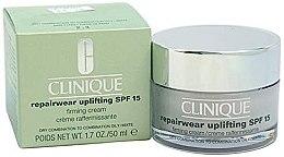 Духи, Парфюмерия, косметика Интенсивно восстанавливающий крем для комбинированной кожи - Clinique Repairwear Uplifting Cream SPF15