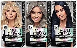 Духи, Парфюмерия, косметика Краска для волос - Joanna Multi Cream Color Metallic