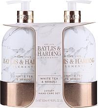 Духи, Парфюмерия, косметика Набор - Baylis & Harding White Tea & Neroli Hand Care Set (soap/500ml + h/b/lotion/500ml)