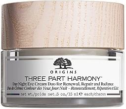 Духи, Парфюмерия, косметика Крем дневной и ночной для кожи вокруг глаз - Origins Three Part Harmony Day and Night Eye Cream Duo