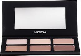 Духи, Парфюмерия, косметика Палетка для контурирования лица - Moira Highlight & Contour Palette