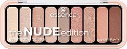 Духи, Парфюмерия, косметика Палетка теней для век - Essence The Nude Edition Eyeshadow Palette