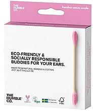 Духи, Парфюмерия, косметика Бамбуковые ватные палочки - The Humble Co. Cotton Swabs Pink