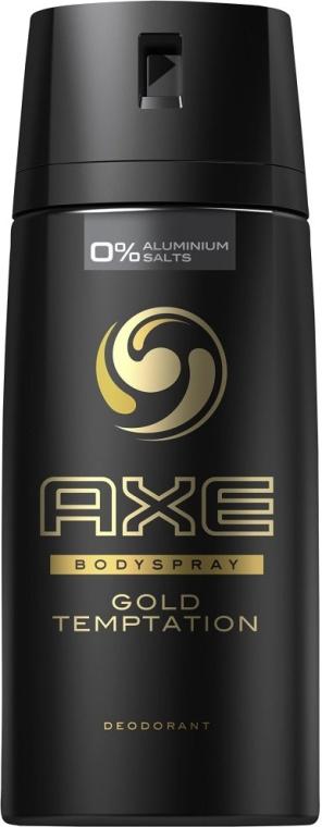 "Антиперспирант-аэрозоль ""Голд Темптейшн"" для мужчин - Axe Deodorant Bodyspray Gold Temptation — фото N1"