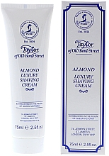 "Духи, Парфюмерия, косметика Крем для бритья ""Миндаль"" - Taylor of Old Bond Street Almond Luxury Shaving Cream (в тубе)"