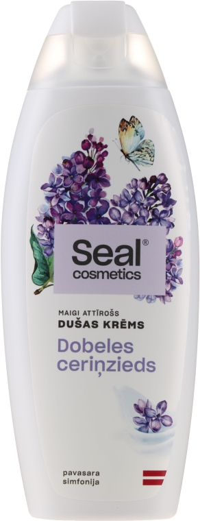 """Крем для душа """"Сирень"""" - Seal Cosmetics Shower Cream — фото N1"""