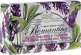 Духи, Парфюмерия, косметика Мыло с ароматами лаванды и вербены - Nesti Dante Romantica
