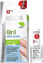 Духи, Парфюмерия, косметика Универсальный лак для ногтей - Eveline Cosmetics Nail Therapy Professional Sensitive