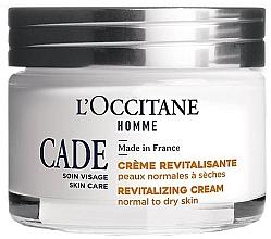 Духи, Парфюмерия, косметика Восстанавливающий крем для лица - L'Occitane Cade Revitalizing Cream