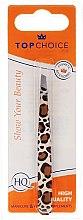 Духи, Парфюмерия, косметика Пинцет для бровей скошенный, 75957, леопард - Top Choice