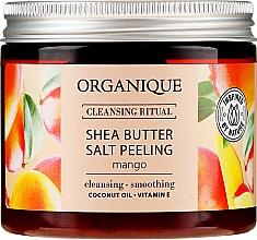 "Духи, Парфюмерия, косметика Соляной пилинг ""Манго"" - Organique Shea Butter Salt Peeling Mango"