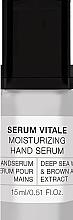 Духи, Парфюмерия, косметика Сыворотка для рук - Alessandro International Spa Serum Vitale Moisturizing Hand Serum