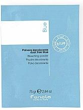 Духи, Парфюмерия, косметика Порошок для осветления волос, голубой - Fanola De-Color Compact Blue (пробник)