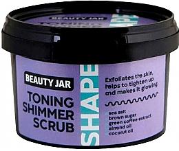 Духи, Парфюмерия, косметика Тонизирующий скраб для тела - Beauty Jar Toning Shimmer Scrub